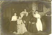 Joseph, Kate, Ecca, Greta, Carn, Dick and Tiny (1909-1910)