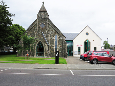 Old Presbyterian Church at Buncrana (now a library)